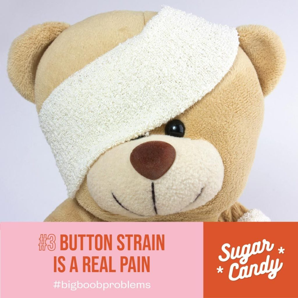 button strain is a real pain