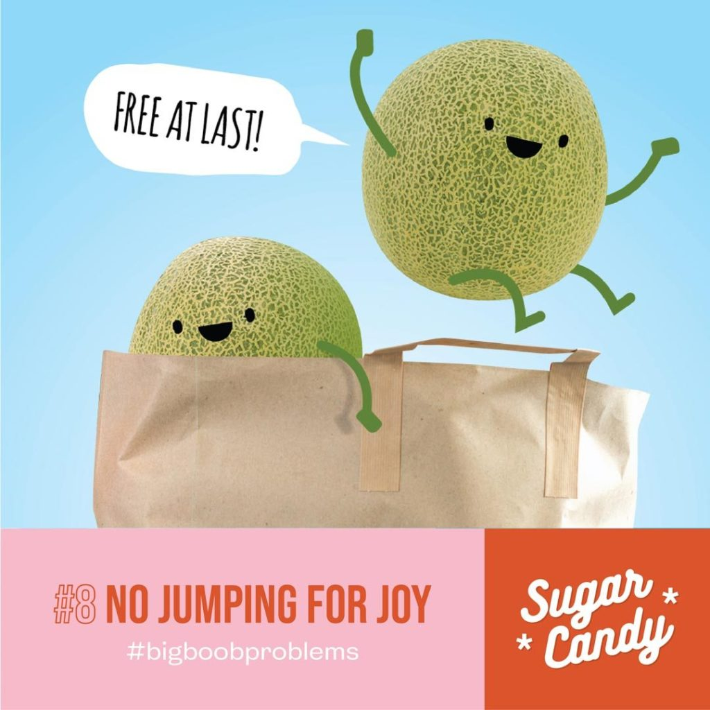 no jumping for joy