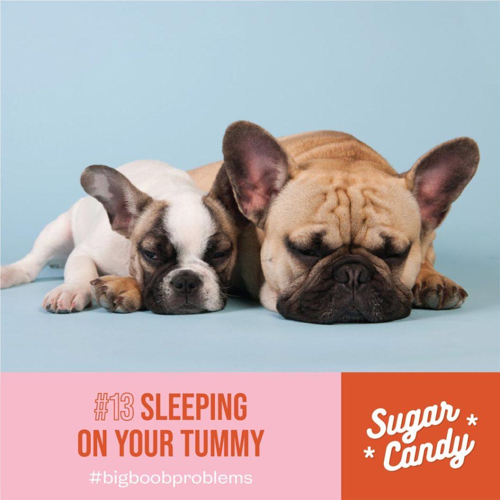 sleeping on your tummy