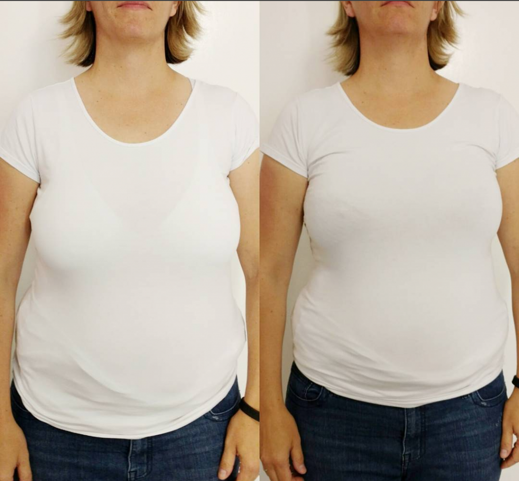Wearing Wrong Size Bra - Before & After